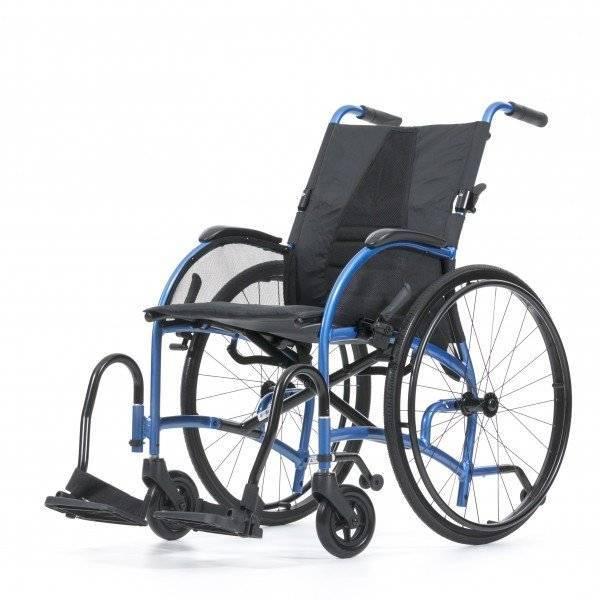 BESCOMEDICAL Ultraleichtgewicht Rollstuhl Strongback mit 360 Grad-Ansicht im rehashop