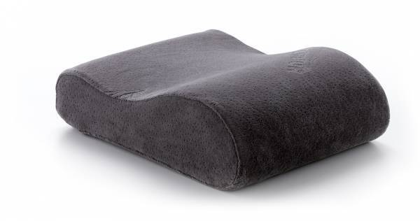 Travel Pillow Grey Reise Kissen schlafPUR