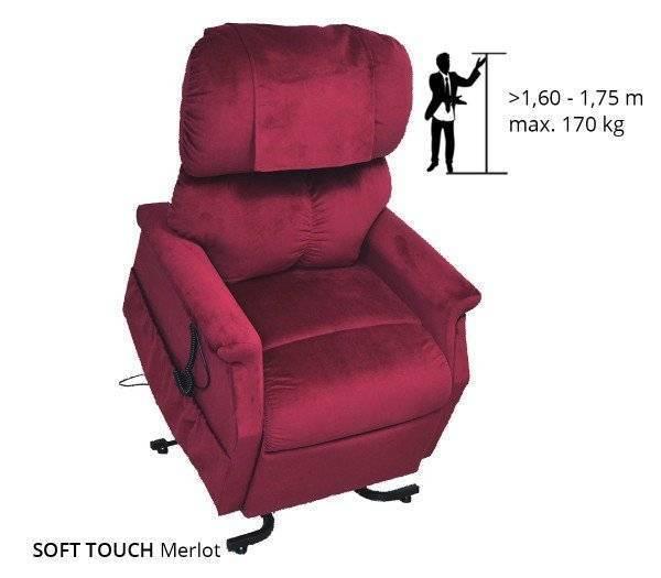 GOLDEN Komfort Plus Sessel 2 Motoren massierend und wärmend