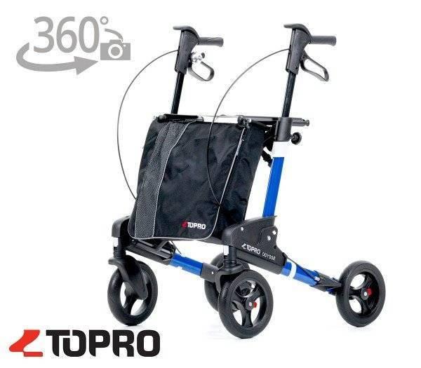 TOPRO Reiserollator Odyssé mit 360 Grad-Ansicht im rehashop.ch