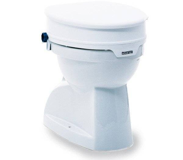 AQUATEC Toilettensitzerhöhung 90