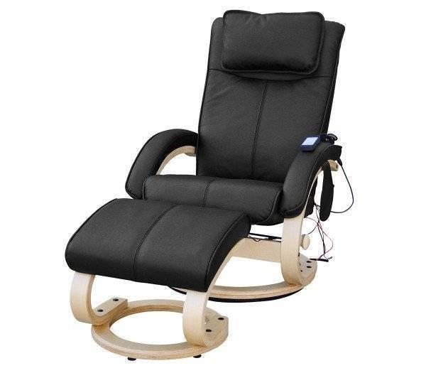 Relax- und Massagesessel REHASHOP FeelGood, Farbe: Schwarz