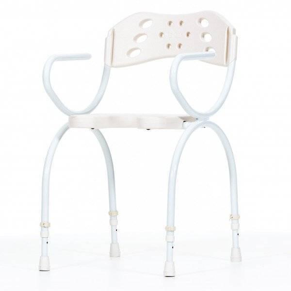 Moderner Stuhl für die Dusche: Der Trinidad von BISCHOFF UND BISCHOFF