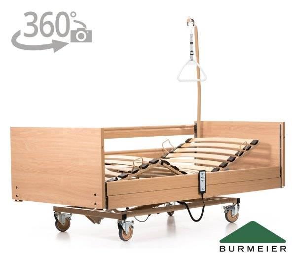 BURMEIER Pflegebett Westfalia IV mit 360° Ansicht im rehashop