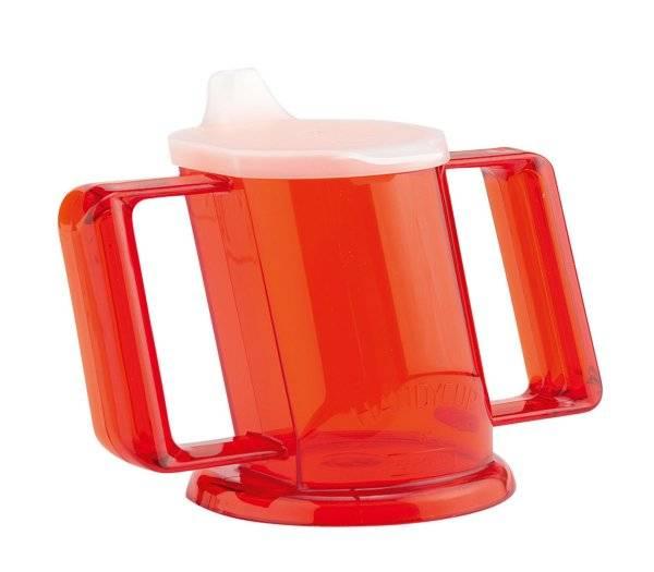 Trinkbecher, rot Handycup
