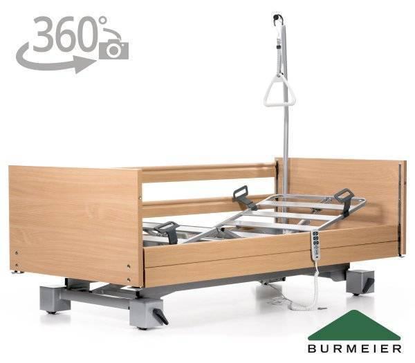 BURMEIER Pflegebett Regia mit 360° Ansicht im rehashop